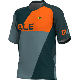 Alé Cycling Enduro Rampage Kortermede Sykkeltrøyer Herre Grå/Orange